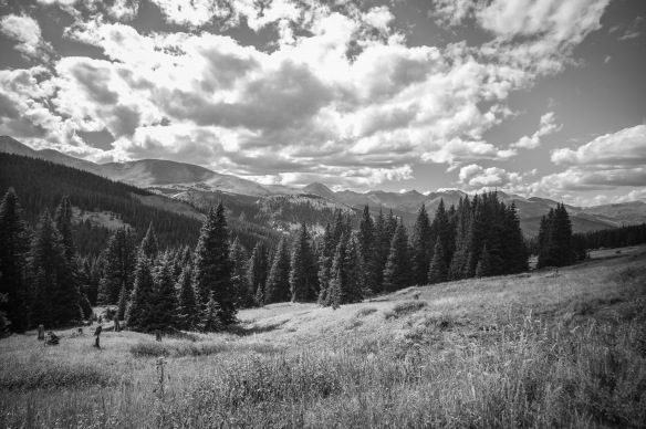 Near Boreas Pass, Park county, CO-1